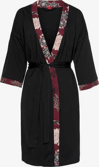 s.Oliver Dressing gown in blood red / black, Item view