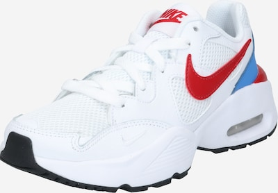 Nike Sportswear Baskets 'AIR MAX FUSION' en bleu / rouge / blanc, Vue avec produit