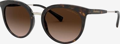 Emporio Armani Sonnenbrille 'EA4145 58352L' in dunkelbraun, Produktansicht