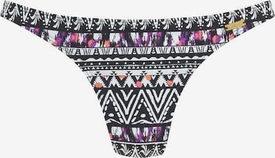 LASCANA Bas de bikini en mélange de couleurs / noir, Vue avec produit