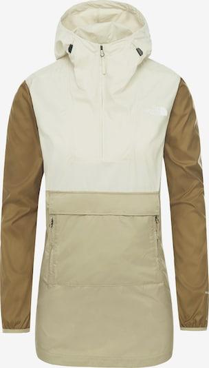 THE NORTH FACE Functionele jas 'Fanorak W' in de kleur Beige / Lichtbruin / Wit, Productweergave