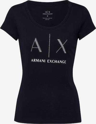 Marškinėliai '8NYT83' iš ARMANI EXCHANGE , spalva - juoda, Prekių apžvalga
