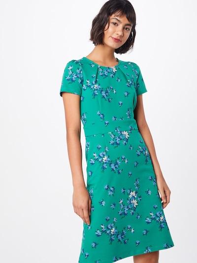 King Louie Kleid 'Mona Dress Amalfi' in dunkelgrün / mischfarben, Modelansicht