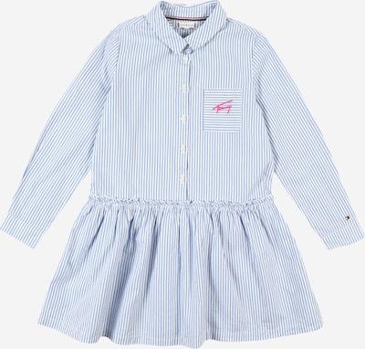 TOMMY HILFIGER Kleid 'ITHACA' in rauchblau / weiß, Produktansicht