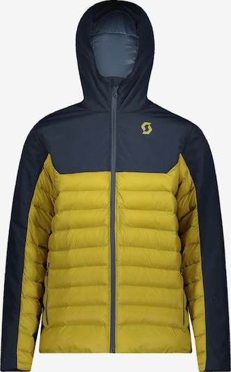 SCOTT Skijacke in dunkelblau / gelb, Produktansicht