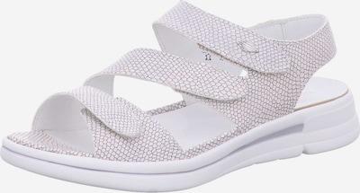 WALDLÄUFER Sandale in silber, Produktansicht