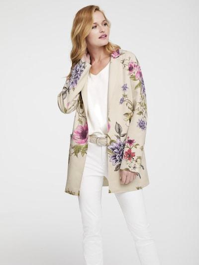 heine Blazer in beige / mischfarben, Modelansicht