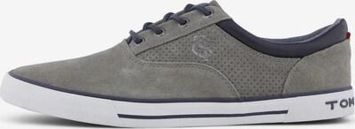 TOM TAILOR Shoes Moderner Schnürschuh aus Leder in grau, Produktansicht