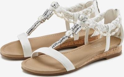 LASCANA Sandale in weiß, Produktansicht