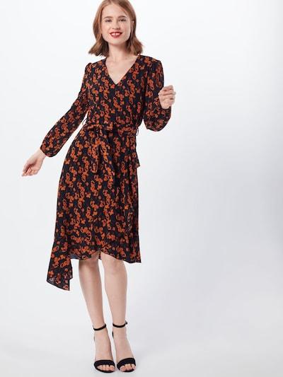 Suknelė 'RUFFLE' iš Mela London , spalva - oranžinė / juoda: Vaizdas iš priekio