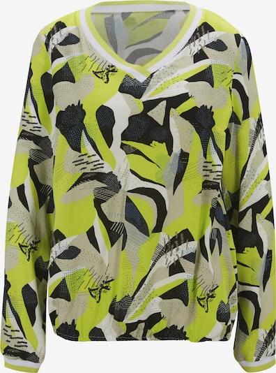 heine Bluza u siva / neonsko zelena / crna, Pregled proizvoda