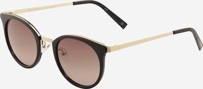 LE SPECS Sonnenbrille 'NO LURKING' in gold / schwarz, Produktansicht