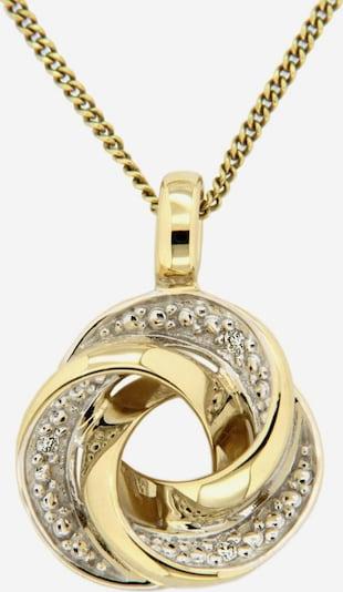 VIVANCE Kettenanhänger 'Knoten' in gold, Produktansicht