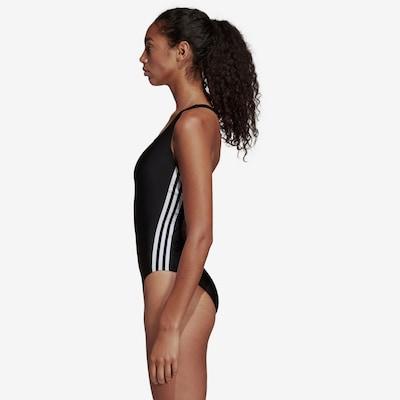 ADIDAS PERFORMANCE Schwimmanzug in schwarz / weiß, Modelansicht