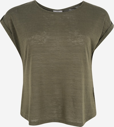 ABOUT YOU Curvy Shirt 'Kaili Shirt' in grün / khaki / dunkelgrün, Produktansicht