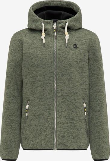 Schmuddelwedda Fleece jas in de kleur Kaki, Productweergave