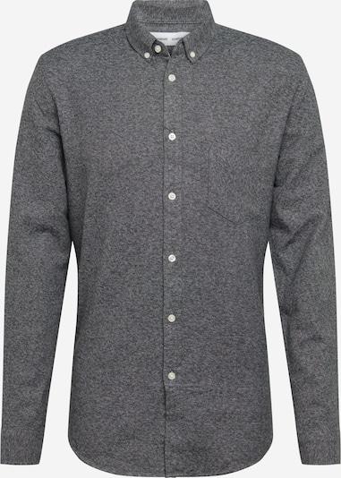 Samsoe Samsoe Hemd 'Liam' in graumeliert, Produktansicht