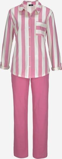 VIVANCE Pyjama 'Dreams' in pink / weiß, Produktansicht