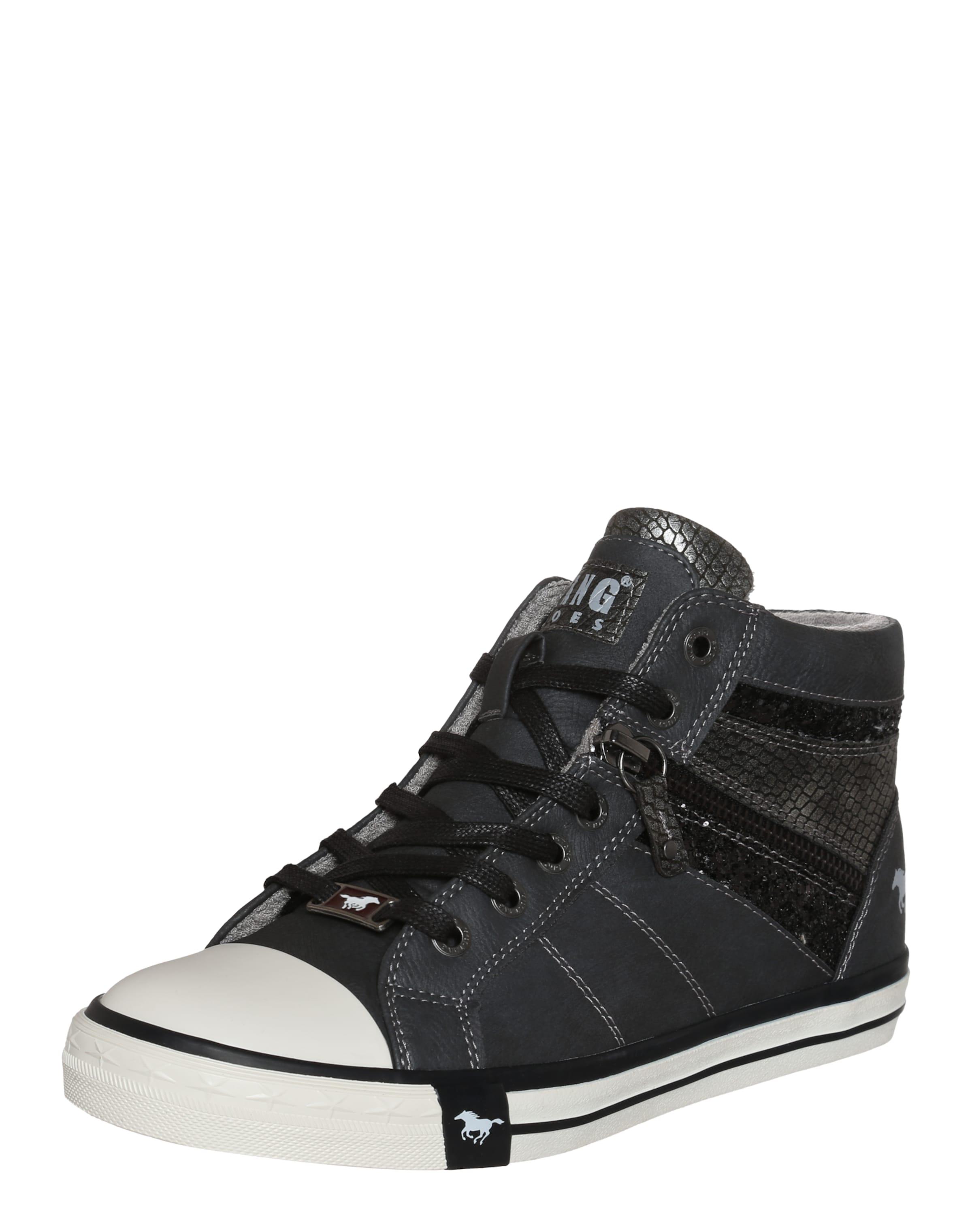MUSTANG Sneaker mit Glitzerdetails Verschleißfeste billige Schuhe