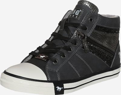 MUSTANG Sneaker mit Glitzerdetails  in graphit, Produktansicht