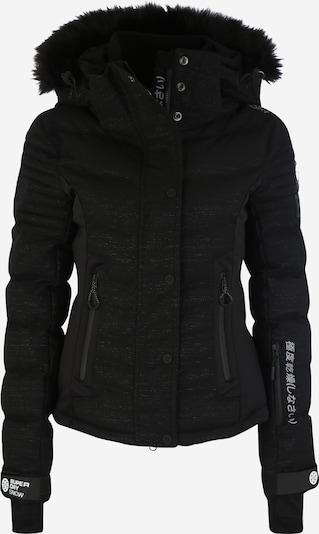 Superdry Snow Veste outdoor 'Luxe Snow' en noir, Vue avec produit