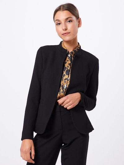 ESPRIT Blazer 'Knit Blazer' in schwarz, Modelansicht