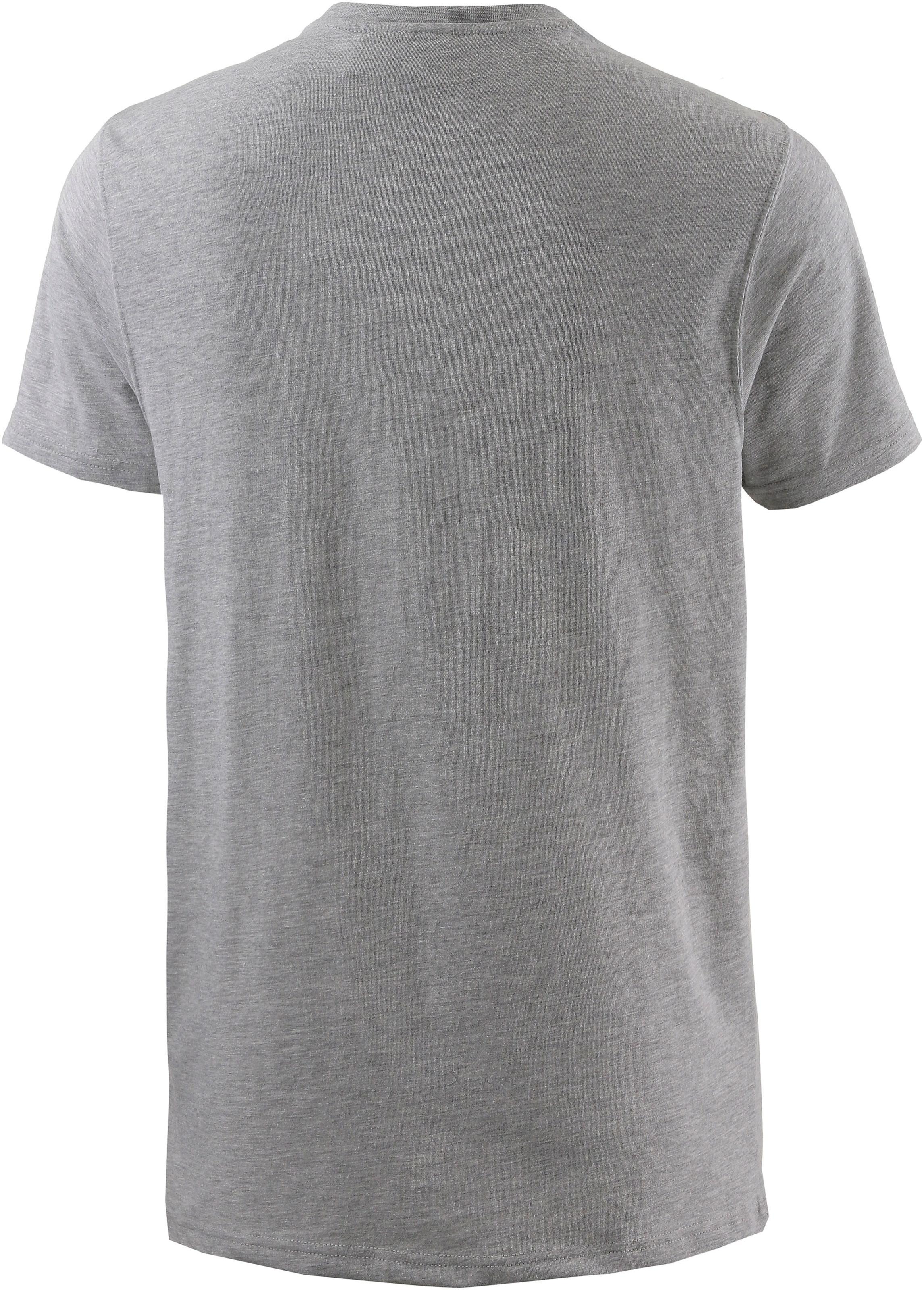 NEW ERA T-Shirt in grau Jersey 11073668/L