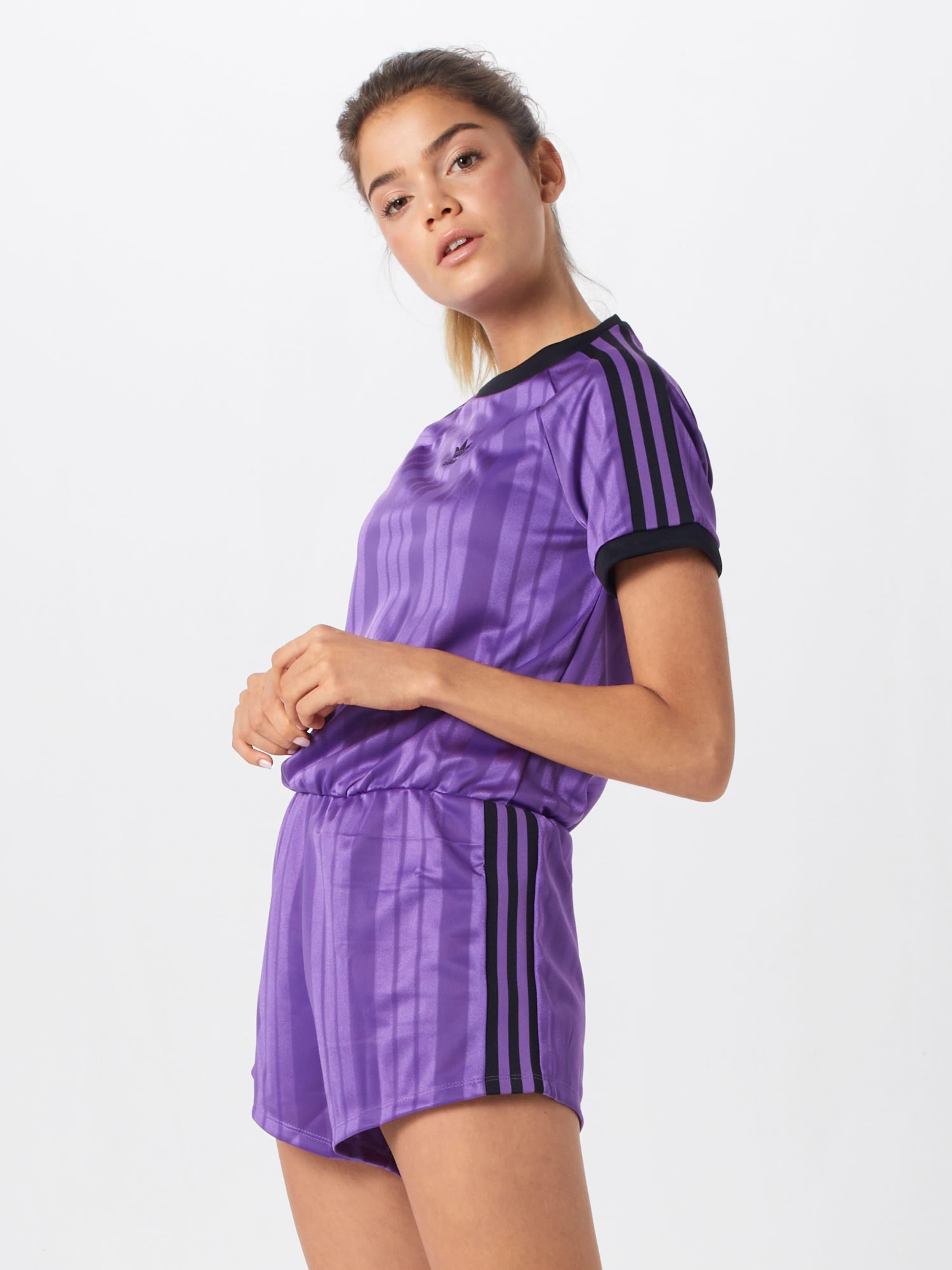 Originals 'jumpsuit' Adidas Combinaison VioletNoir En 1JK3TlFc