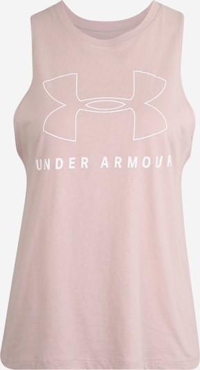 UNDER ARMOUR Sport-Top 'SPORTSTYLE GRAPHIC MUSCLE' in rosa / weiß, Produktansicht
