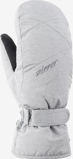 ZIENER Skihandschuhe 'KADDYLA MITTEN lady glove' in weiß, Produktansicht