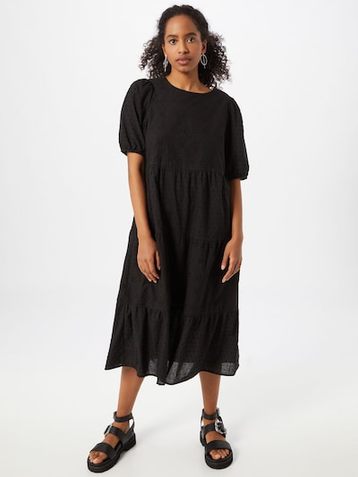 fekete NEW LOOK Ruha 'Broderie Midi', Modell nézet