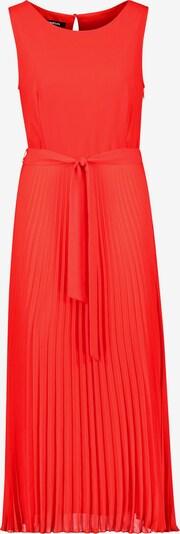 TAIFUN Kleid Langarm kurz Chiffonkleid mit Plissée in hellrot, Produktansicht