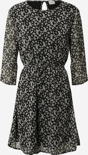 JACQUELINE de YONG Kleid 'JDYJENNIFER NEW 3/4 BELT DRESS' in grau / schwarz, Produktansicht