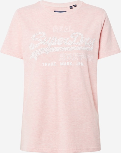 Superdry Shirt 'Floral' in rosa, Produktansicht