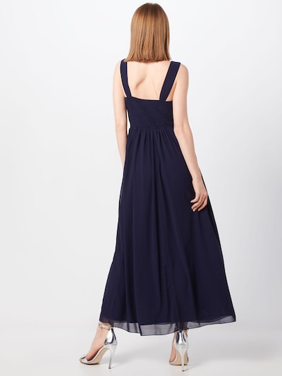 Mela London Večerna obleka 'SEQUIN DETAILED MAXI DRESS' | mornarska barva: Pogled od zadnje strani