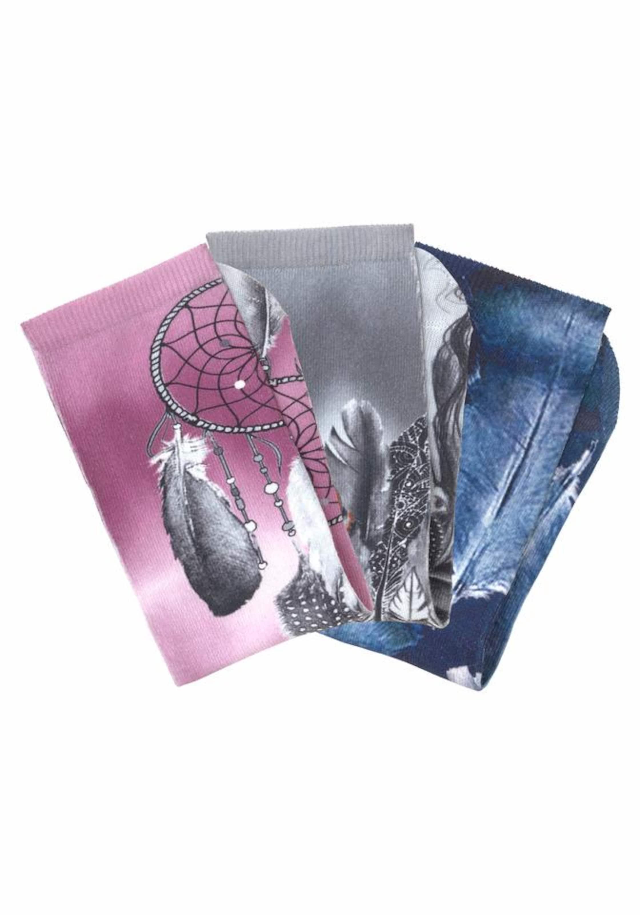 ARIZONA Socken (3 Paar) mit marokkanischem Grafikdesign Rabatt Erschwinglich Viele Arten Von Online Spielraum 2018 Ks4XcH4ur