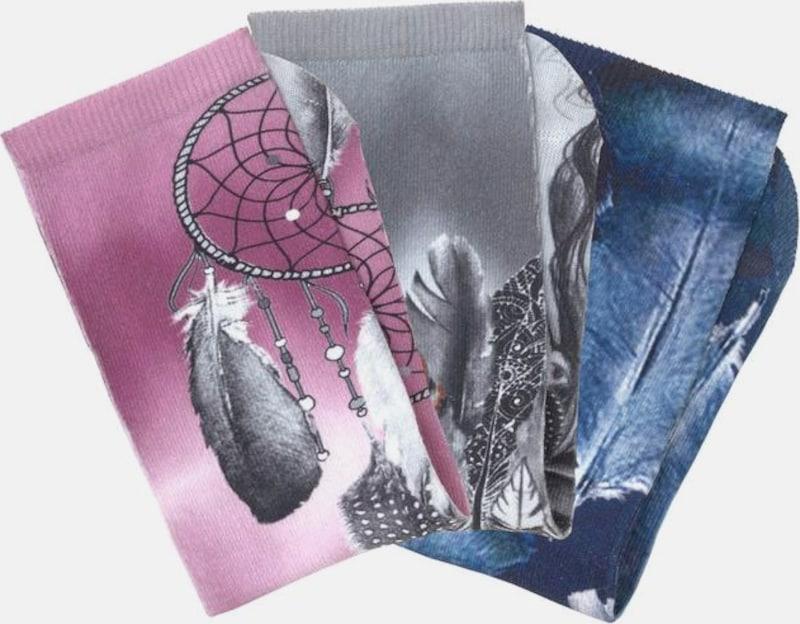 ARIZONA Socken (3 Paar) mit marokkanischem Grafikdesign