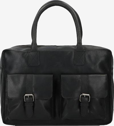 Burkely Aktentasche 'Vintage Finn' in schwarz, Produktansicht