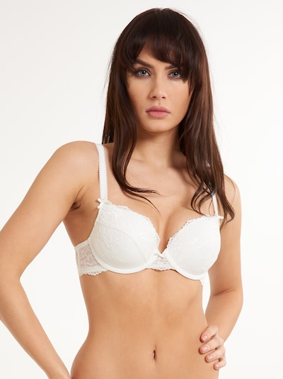 LingaDore Gel BH 'DAILY LACE' in weiß, Modelansicht