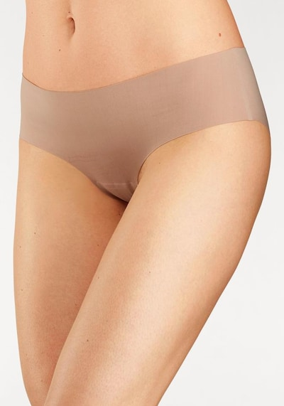SCHIESSER Lasercut Panty 'Invisible Light' in nude: Frontalansicht