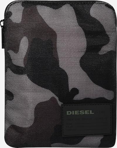 DIESEL Sac à bandoulière 'Discover Me' en gris clair / gris foncé, Vue avec produit
