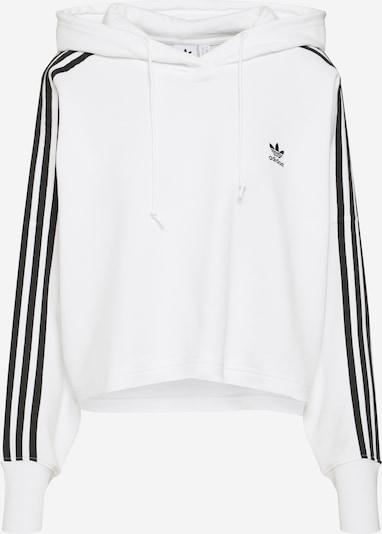 Bluză de molton ADIDAS ORIGINALS pe negru / alb, Vizualizare produs