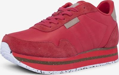 WODEN Sneakers ' Nora II Plateau ' in dunkelpink, Produktansicht