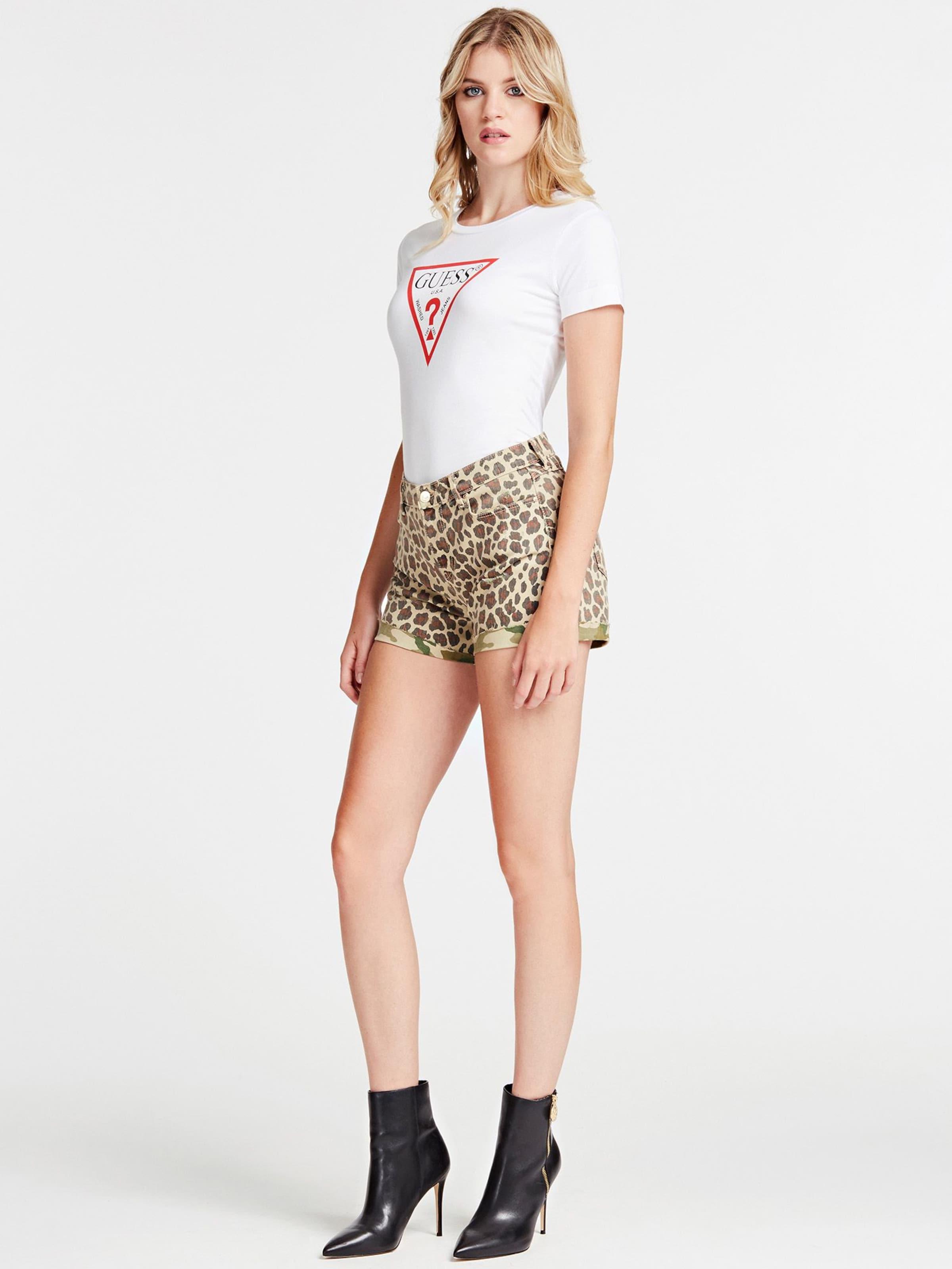 Guess RotSchwarz shirt T In Weiß doBrxWeC