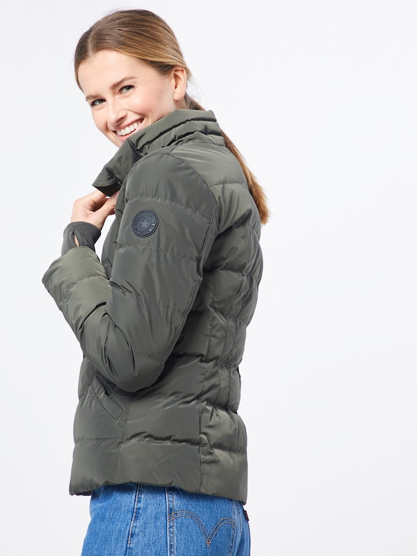 AIRFORCE Jacke in oliv: Frontalansicht