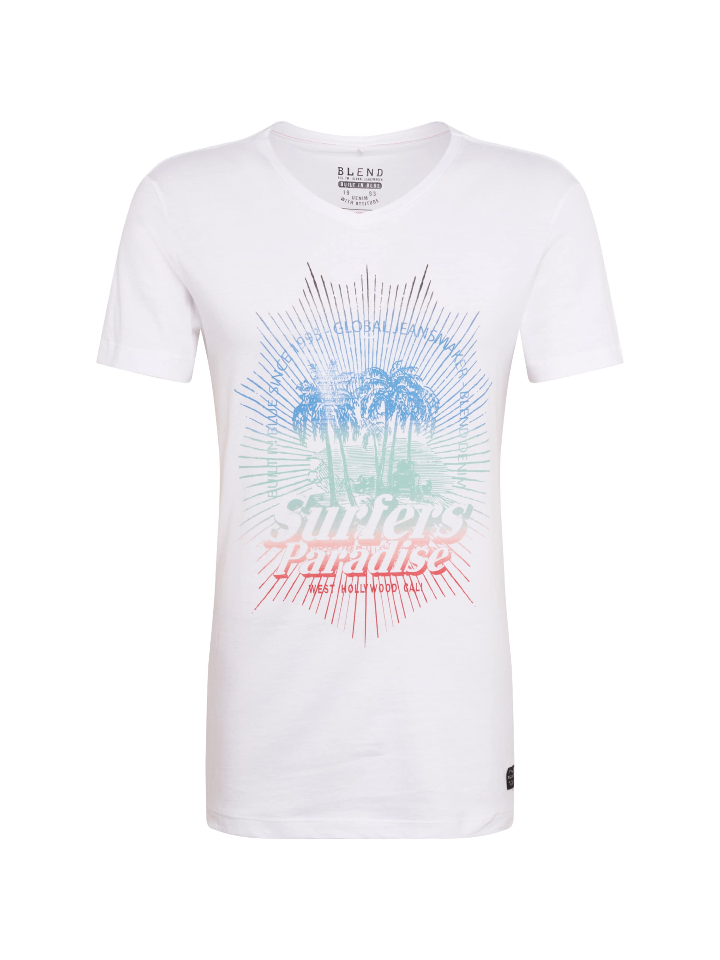 CouleursBlanc Mélange De shirt In BlendT vmO8N0wn