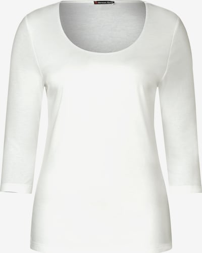 STREET ONE Shirt 'Pania' in offwhite, Produktansicht