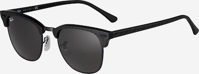 Ray-Ban Sonnenbrille 'Clubmaster' in schwarz, Produktansicht