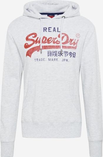 Superdry Sweatshirt in de kleur Blauw / Rood / Wit gemêleerd, Productweergave