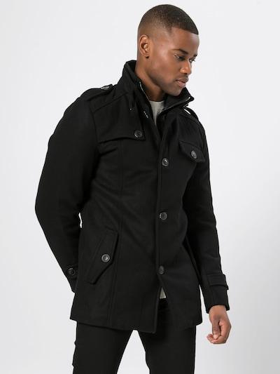 Rudeninis-žieminis paltas 'Brendan' iš INDICODE JEANS , spalva - juoda, Modelio vaizdas